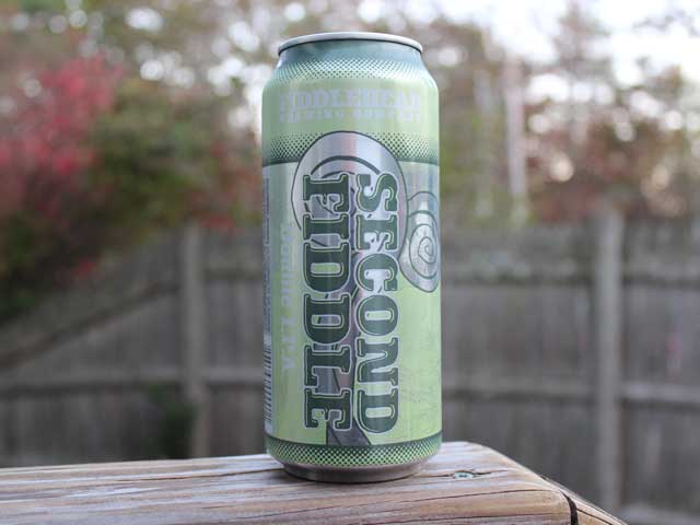 Second Fiddle, a Double IPA brewed by Fiddlehead Brewing Company