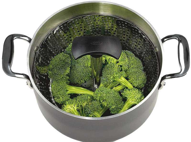OXO Extendable Stainless Steel Steamer