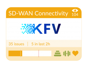 SD-WAN Service Tile in Highlight