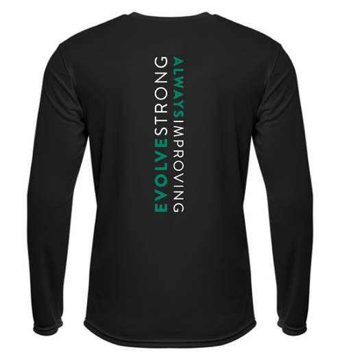 Rain or shine long sleeve, Evolve strong fitness