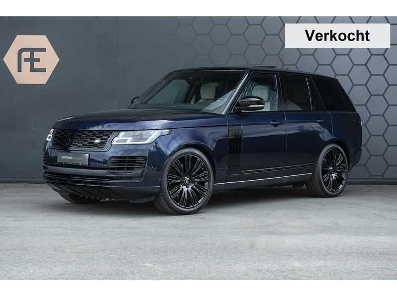 Land Rover Range Rover SDV8 / D340 Autobiography Black Pack, 22'' + Standkachel + BTW +  Elek. trekhaak afbeelding 1
