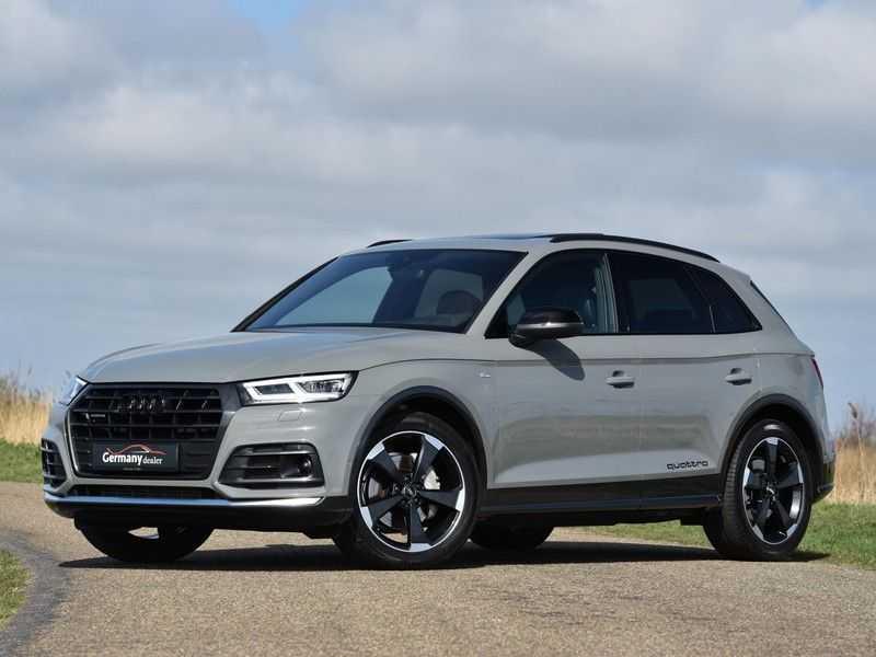 Audi Q5 2.0TFSI 252pk Quattro Black Optic Alle Opties! Lucht Tr.Haak Ruitleder Carbon Matrix Pano 20-Inch afbeelding 3