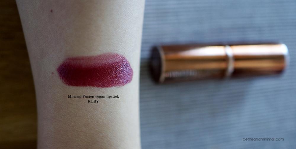 Mineral Fusion Lipstick Ruby