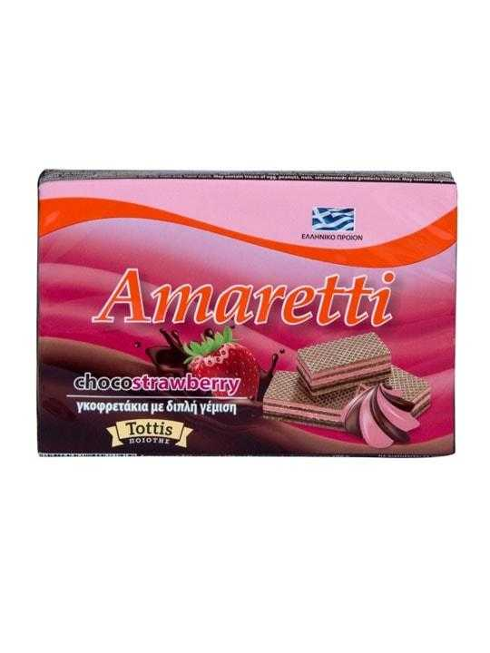 Classic strawberry Wafer Amaretti - 68g