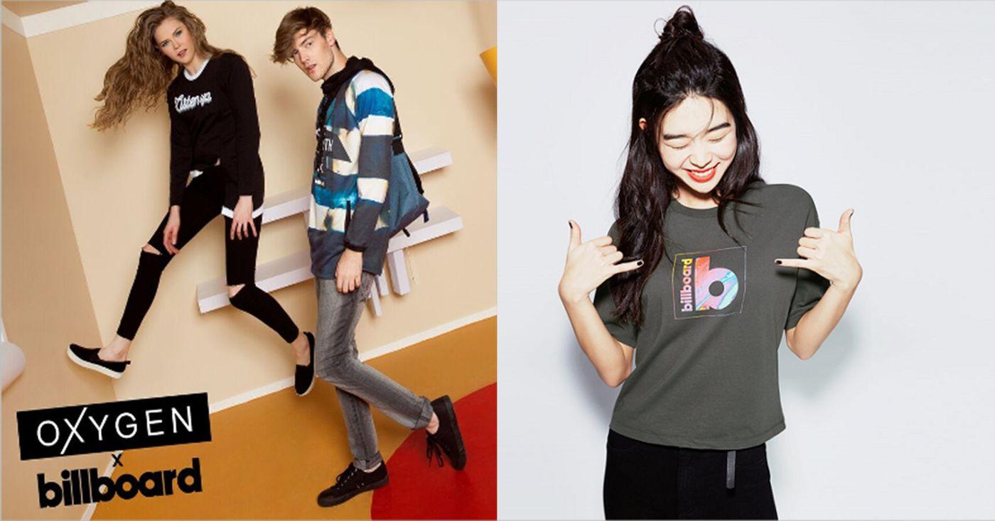 Billboard apparel collection