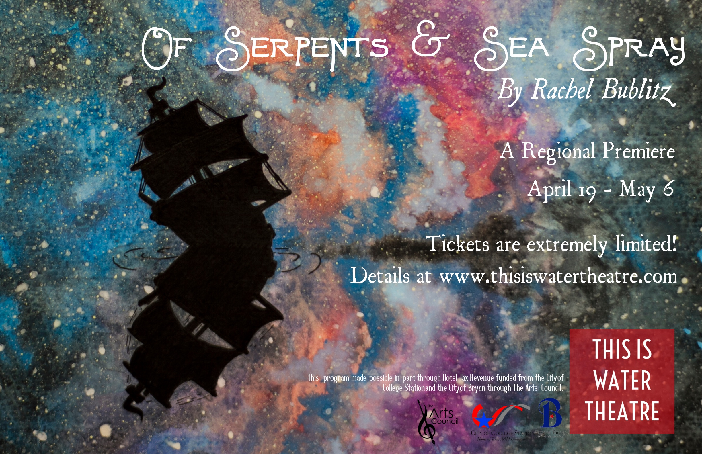 This Is Water OF SERPENTS & SEA SPRAY Promotional Poster