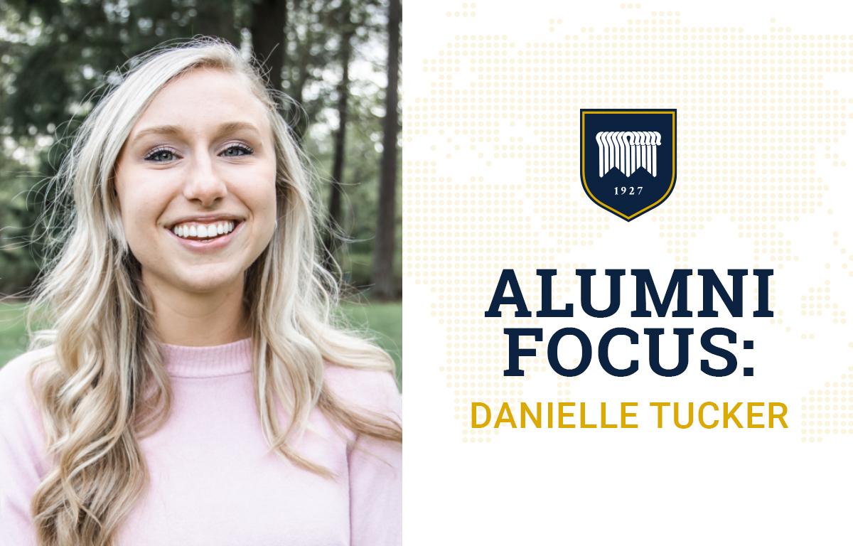 Alumni Focus: Danielle Tucker image