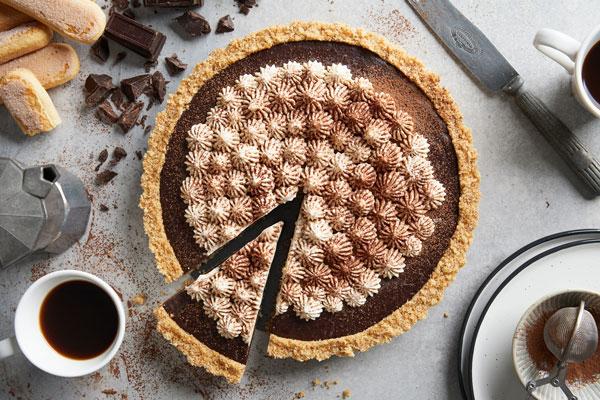 Chocolate Tiramisu Tart