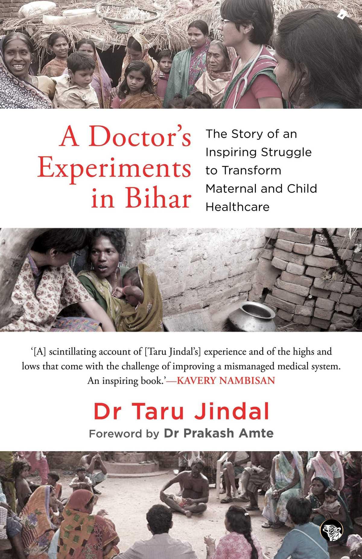 a doctors experiments in bihar cover