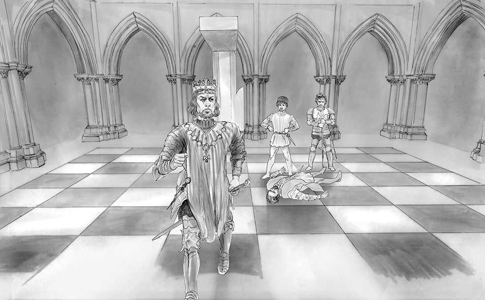 Atoleiros Battle animatic - Juan 1 de Castela leaving Lisbon