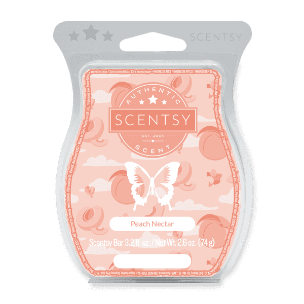 Picture of Peach Nectar Scentsy Bar