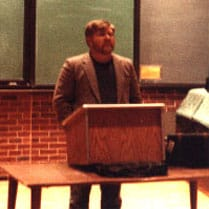 Laird Wilcox at Northern Michigan University