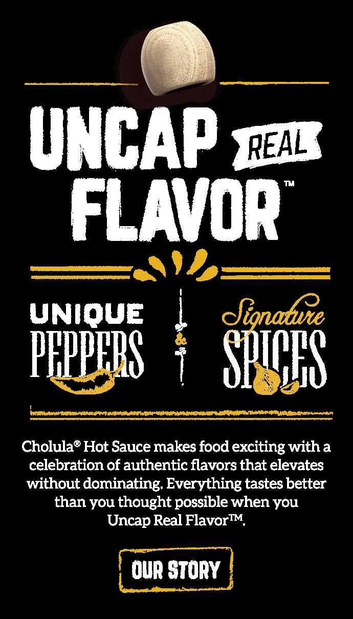 Uncap Real Flavor