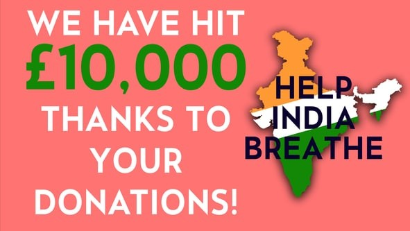 We have hit £10000
