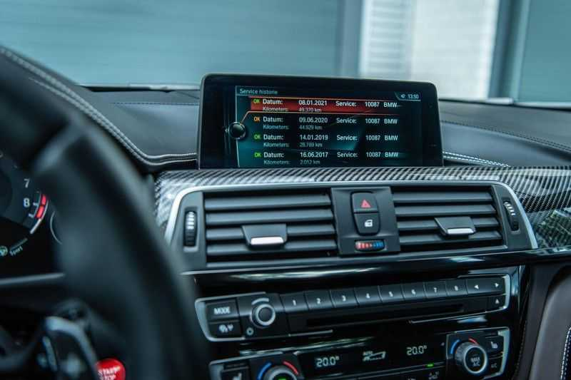 BMW 3 Serie M3 Competition DCTA, 450 PK, Facelift, Akrapovic, Harman/Kardon, Head/Up, LED, Surround View, Carbon, 2017, Org. NL!! afbeelding 5