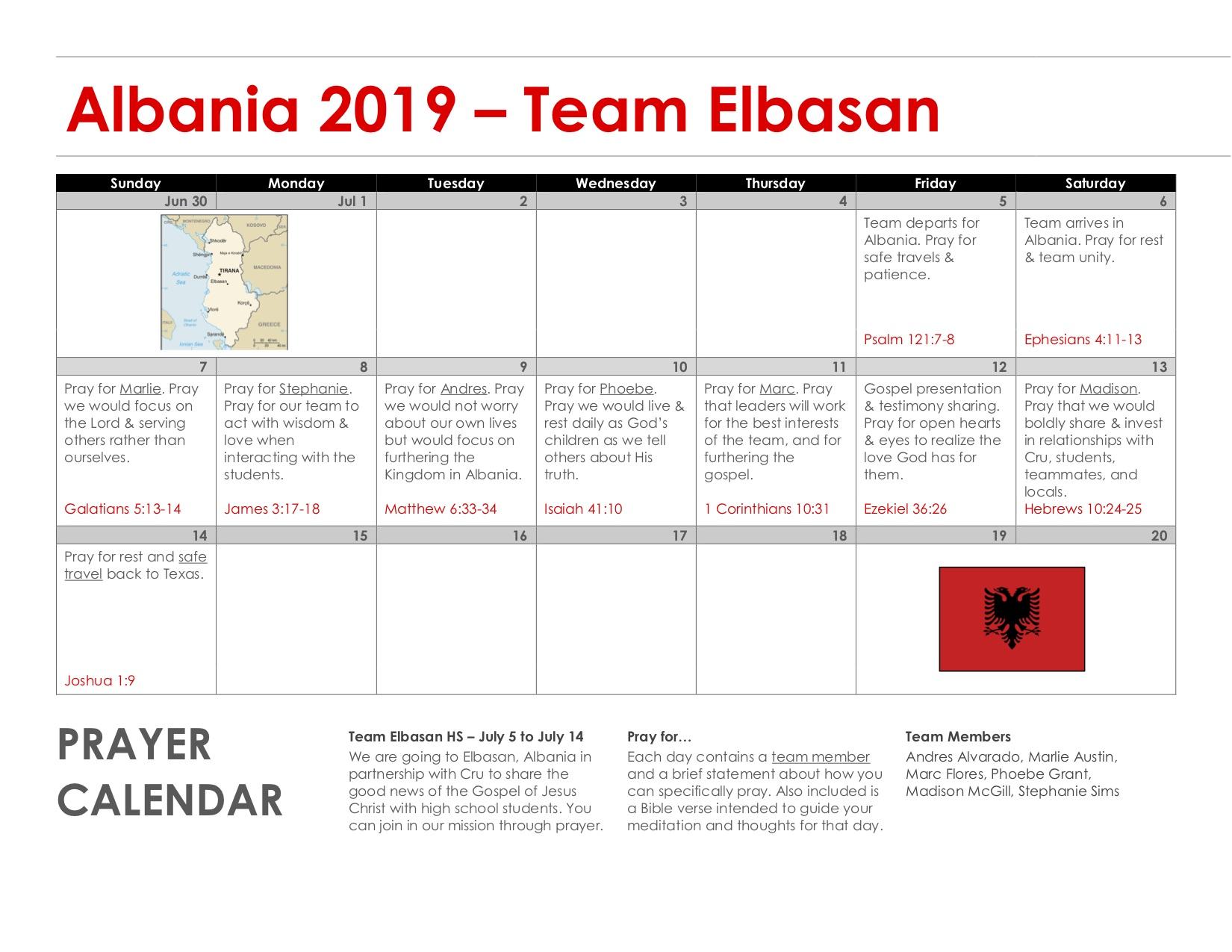 Team Elbasan (High School)