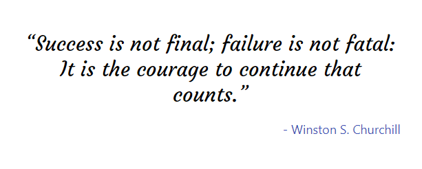 Quote from Winston S. Churchill