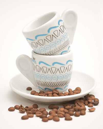 Espresso porcelain cup Motifs