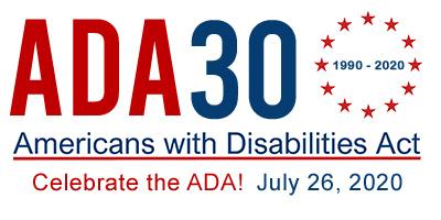 ADA 30th Anniversary poster