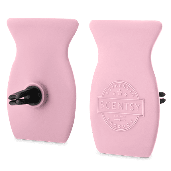 Pink Cotton Car Bar Clip