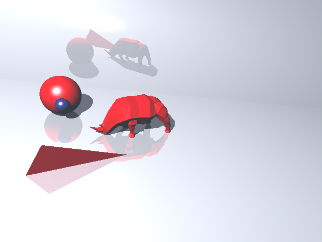 raytracer triangles 3d model