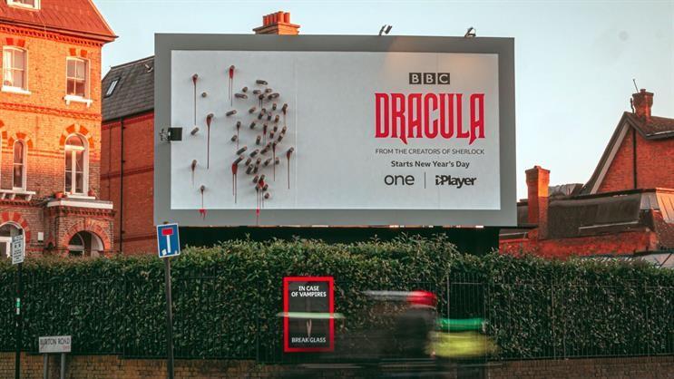 Dracula London Billboard