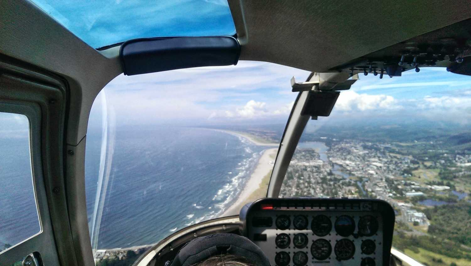 Saturday Helicopter Fun @ Seaside cover image