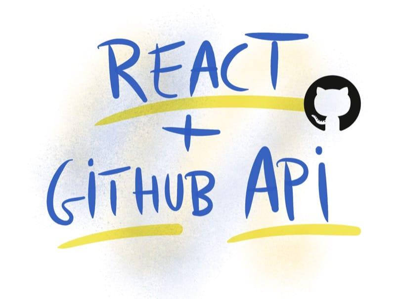 The React git output