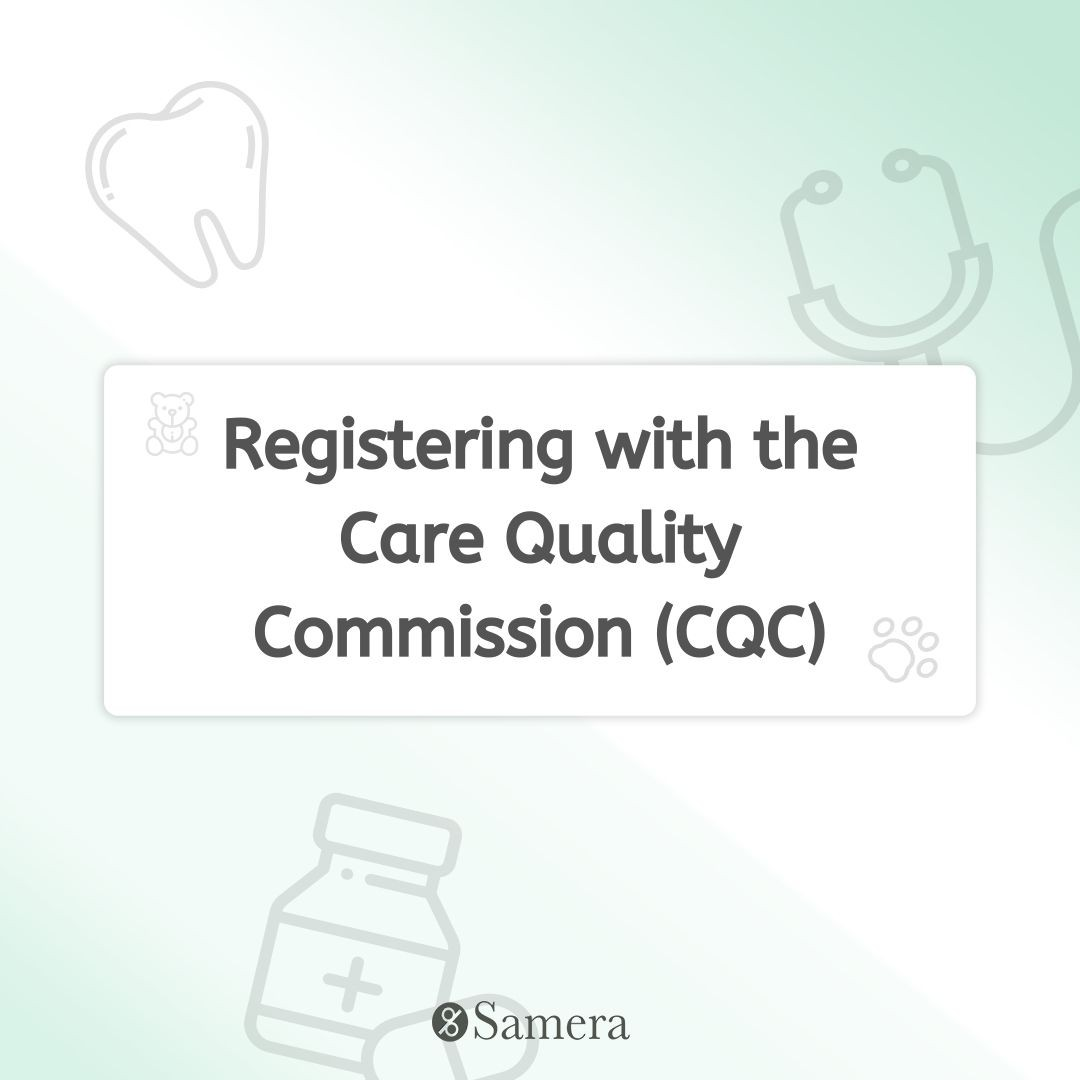 Registering with the Care Quality Commission (CQC)