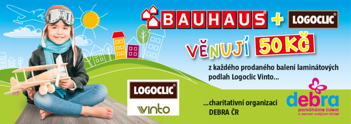 Pokud právě budujete, můžete pomáhat spolu sBauhausem aLogoclic
