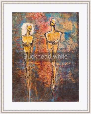framing idea, Buckhead frame with white mat