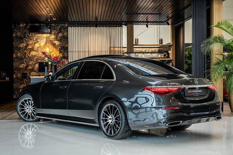 Mercedes-Benz S-Klasse 400d 4Matic Lang AMG | 3D Display | Augmented Head-Up Display | Burmester 3D | Pano | Memory afbeelding 3
