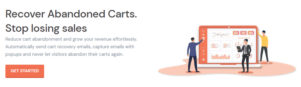 Cart recovery emails