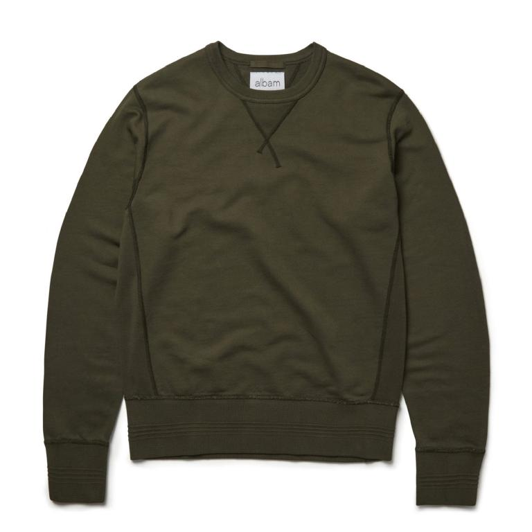 Leaf green sweatshirt