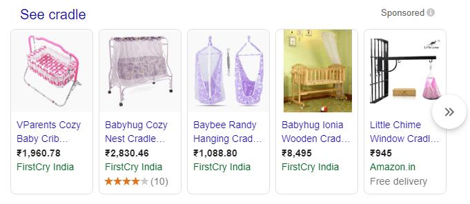 3 google shopping ads example