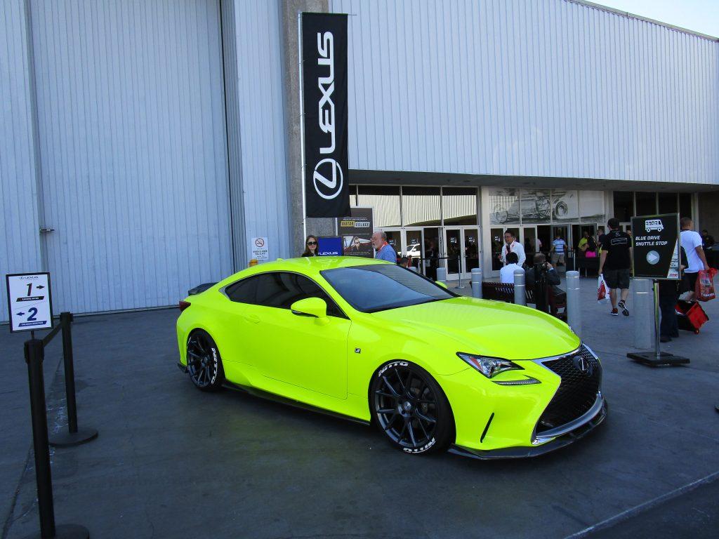 Neon Yellow Lexus