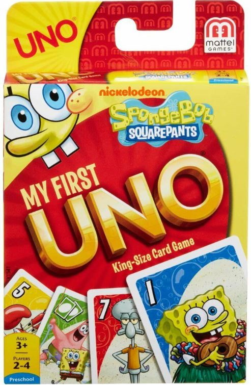SpongeBob Squarepants My First Uno