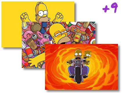 The Simpsons theme pack