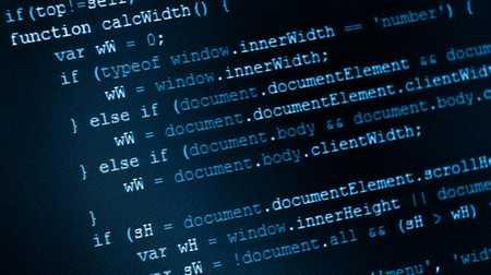 A screenshot of code