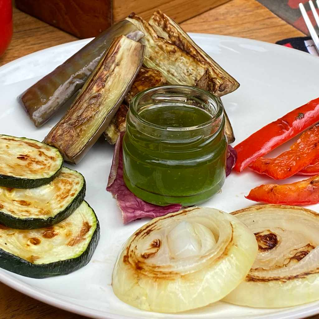 side dishes: mix grill vegetables