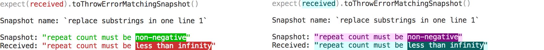 snapshot-change-substrings