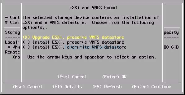How to upgrade ESXi 6.0 to ESXi 6.5 using Interactive Installer - 7