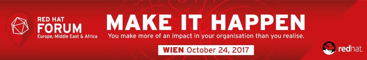 Red Hat Forum: Make it happen