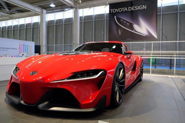 Toyota's new Supra in person
