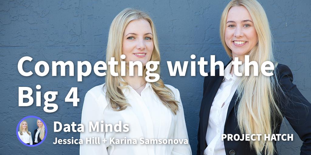 Data Minds Jessica Hill and Karina Samsonova