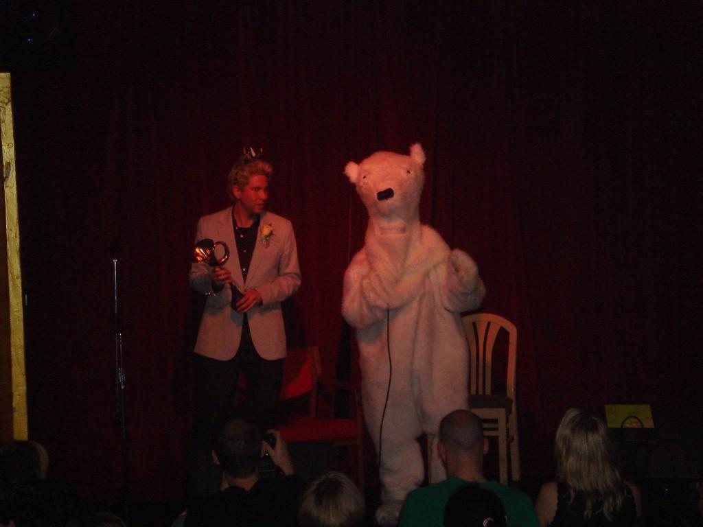 Vladmir the polar bear