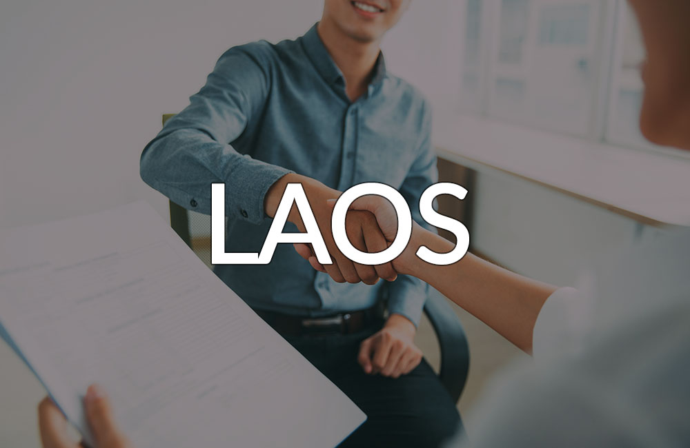 Working in Laos banner