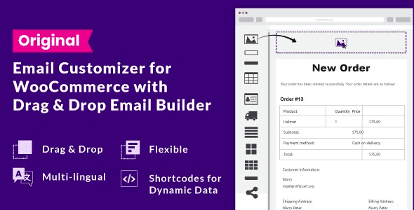 9 Email customizer for WooCommerce