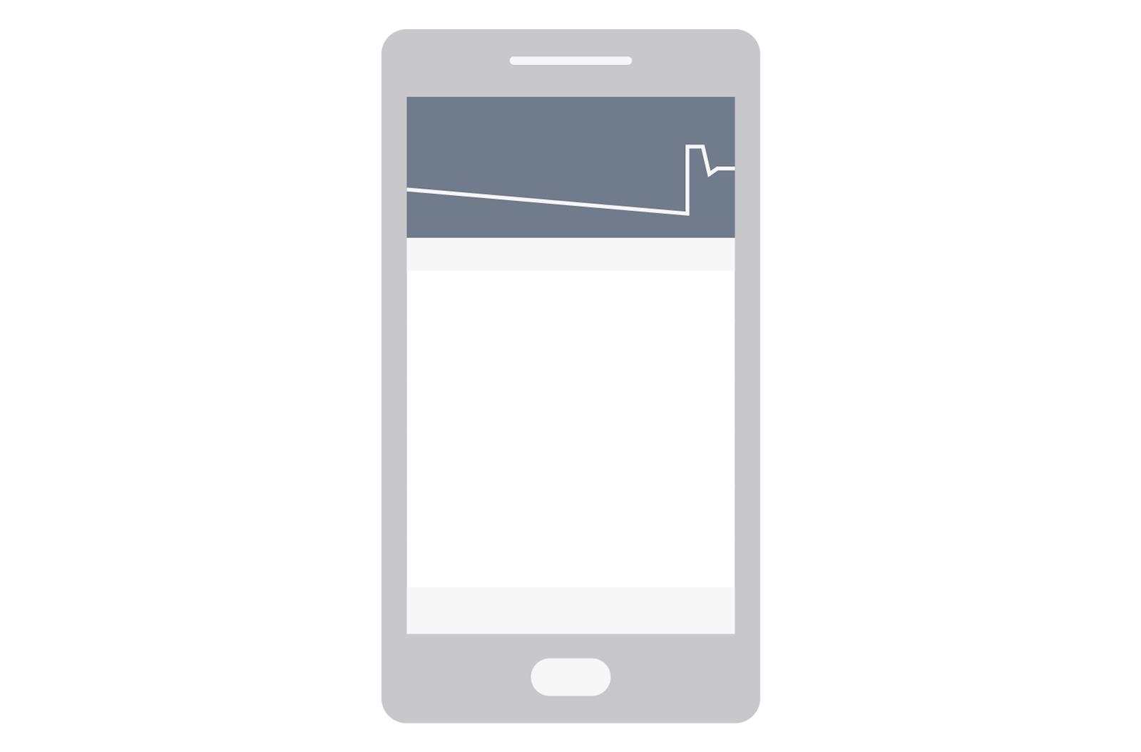 Illustration of the Monzo app