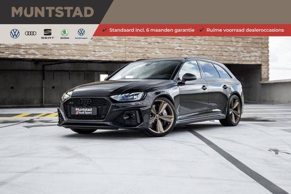 Audi A4 Avant 2.9 TFSI RS4 quattro   450PK   Style pakket Brons   Keramische remschijven   RS Dynamic   B&O   Sportdifferentieel   280 km/h Topsnelheid  